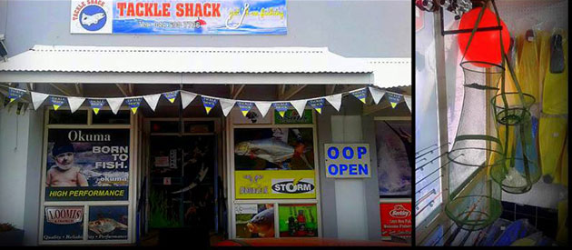 Tackle Shack, Mossel Bay, www.mossel-bay-info.co.za
